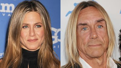 Jennifer Aniston and Iggy Pop