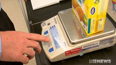 Crackdown on supermarket weights short changing shoppers
