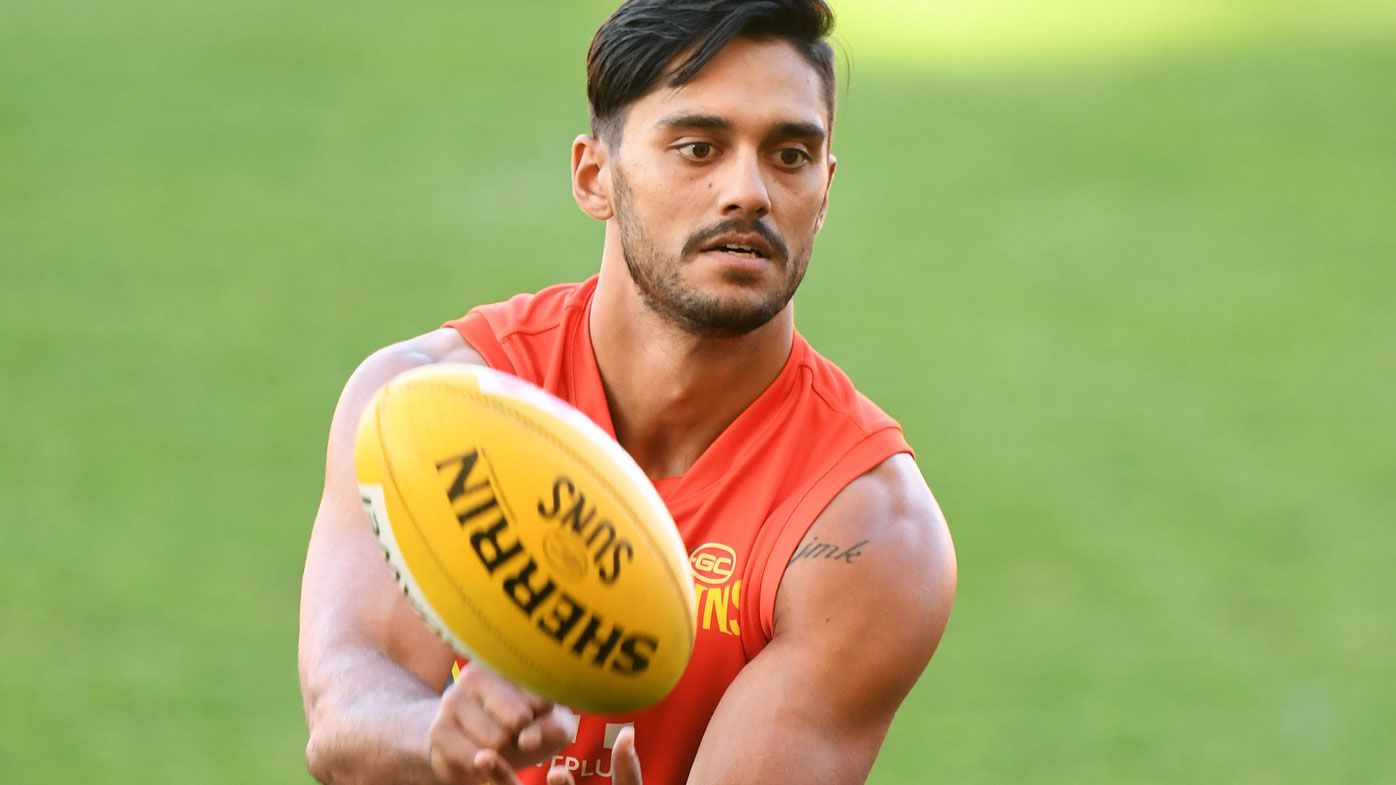 Gold Coast Suns midfielder Aaron Hall seeking AFL trade to Kangaroos