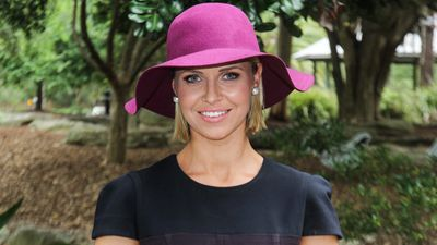 Floppy felt hats like this one from Myer are on-trend for Autumn and Winter horse racing. (Sydney Event Blogger)