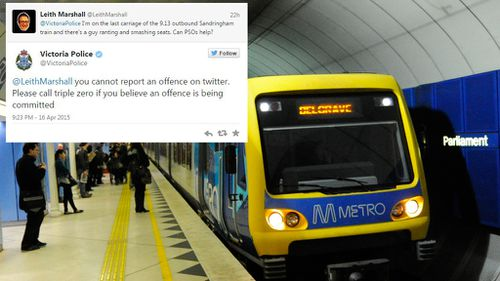 Call for non-urgent crime reporting hotline after Victoria Police Twitter fail