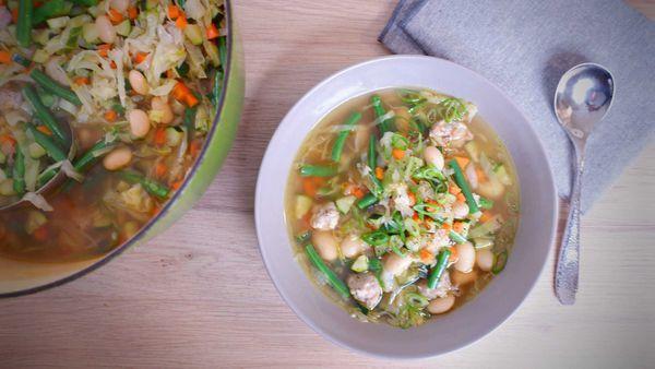 9Honey Quarantine Kitchen: This is proper kitchen scrap soup