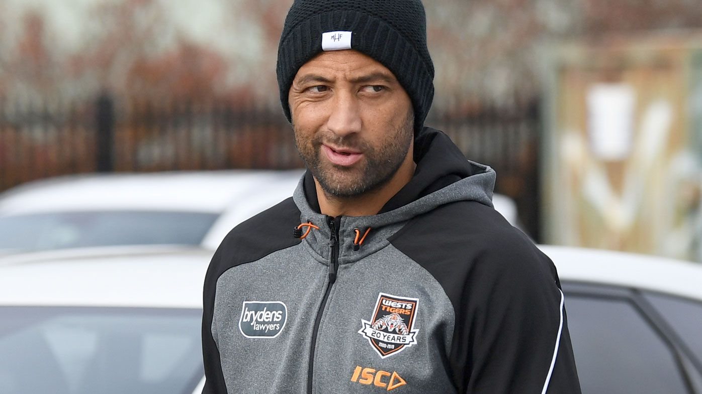 Wests Tigers to cop biosecurity sanction over Benji Marshall kiss with reporter