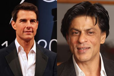 Shahrukh Khan is kind of like India's Tom Cruise, minus the Scientology and Oprah couch outbursts. His latest film, <i>My Name Is Khan</i>, has been described as a cross between <i>Rain Man</i> and <i>Forrest Gump</i>.  So you can throw in a bit of Dustin Hoffman and Tom Hanks too. Bollywood royalty.