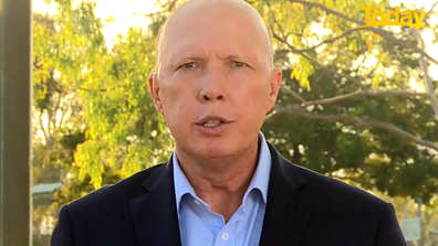 Peter Dutton said both sides of government should be presenting a united front.
