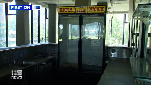 Like most Queensland bowlos, there's a XXXX fridge.