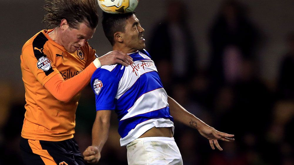 Massimo Luongo in action for QPR. (AAP)