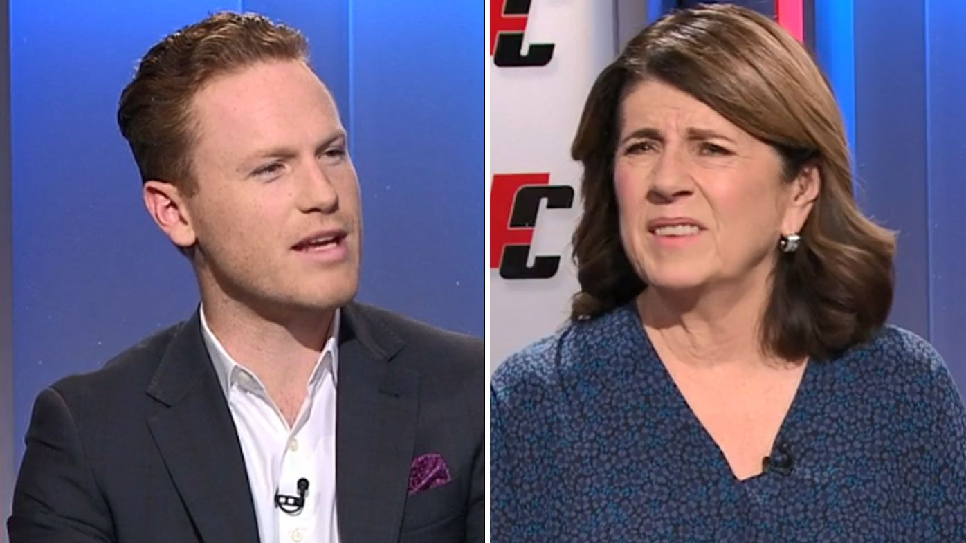 'Don't be obtuse': Footy Classified hosts in fiery exchange over controversial Joel Selwood clip