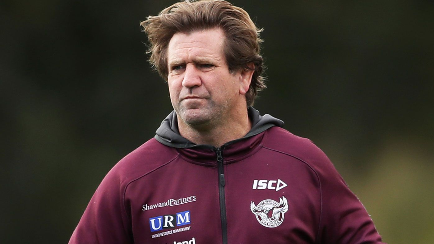 Des Hasler's future looks set to be locked up at Manly. (Getty)