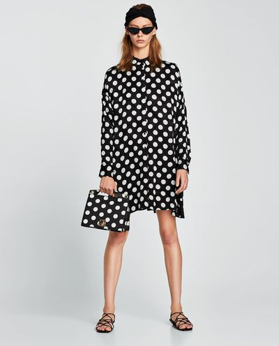 "<a href=""https://www.zara.com/au/en/polka-dot-dress-p01639057.html?v1=5655734&amp;v2=1010034"" target=""_blank"" draggable=""false"">Zara polka dot dress</a>, $99.00"
