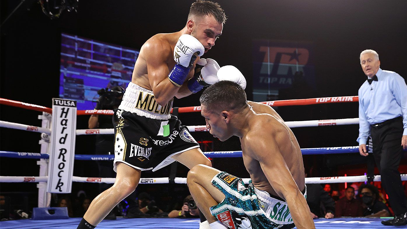 Andrew Moloney beaten in Joshua Franco rematch as video review threatens repeat of controversial finish