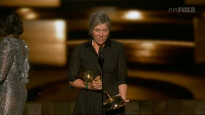 <p><strong>Lead Actress, Limited Series Or Movie</strong></p><p>Frances McDormand, <em>Olive Kitteridge</em></p>