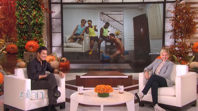 Mario Lopez on The Ellen DeGeneres Show