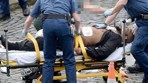 Khalid Masood was killed by a single gunshot to his chest. (AP/AAP)