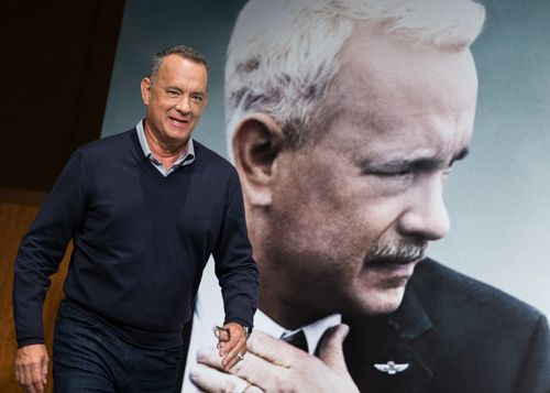 Tom Hanks attends the 'Sully' press conference on September 16, 2016 in Tokyo, Japan.