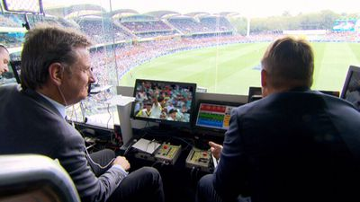 Behind the scenes of the cricket commentary team