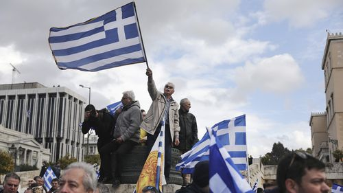 Greece's Parliament is to vote this coming week on whether to ratify the agreement that will rename its northern neighbor North Macedonia. Macedonia has already ratified the deal, which, polls show, is opposed by a majority of Greeks.