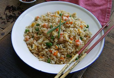 Pink Leopard's fried rice