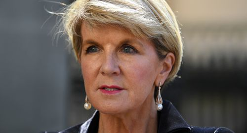 """cms.ninemsn.comMs Bishop said that despite the sometimes """"unpredictable"""" stance of the Trump administration, Mr Trump has """"changed the narrative and changed the status quo. (AAP)"""