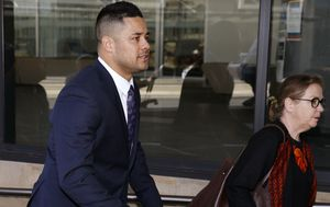 Jarryd Hayne takes the stand during sexual assault trial
