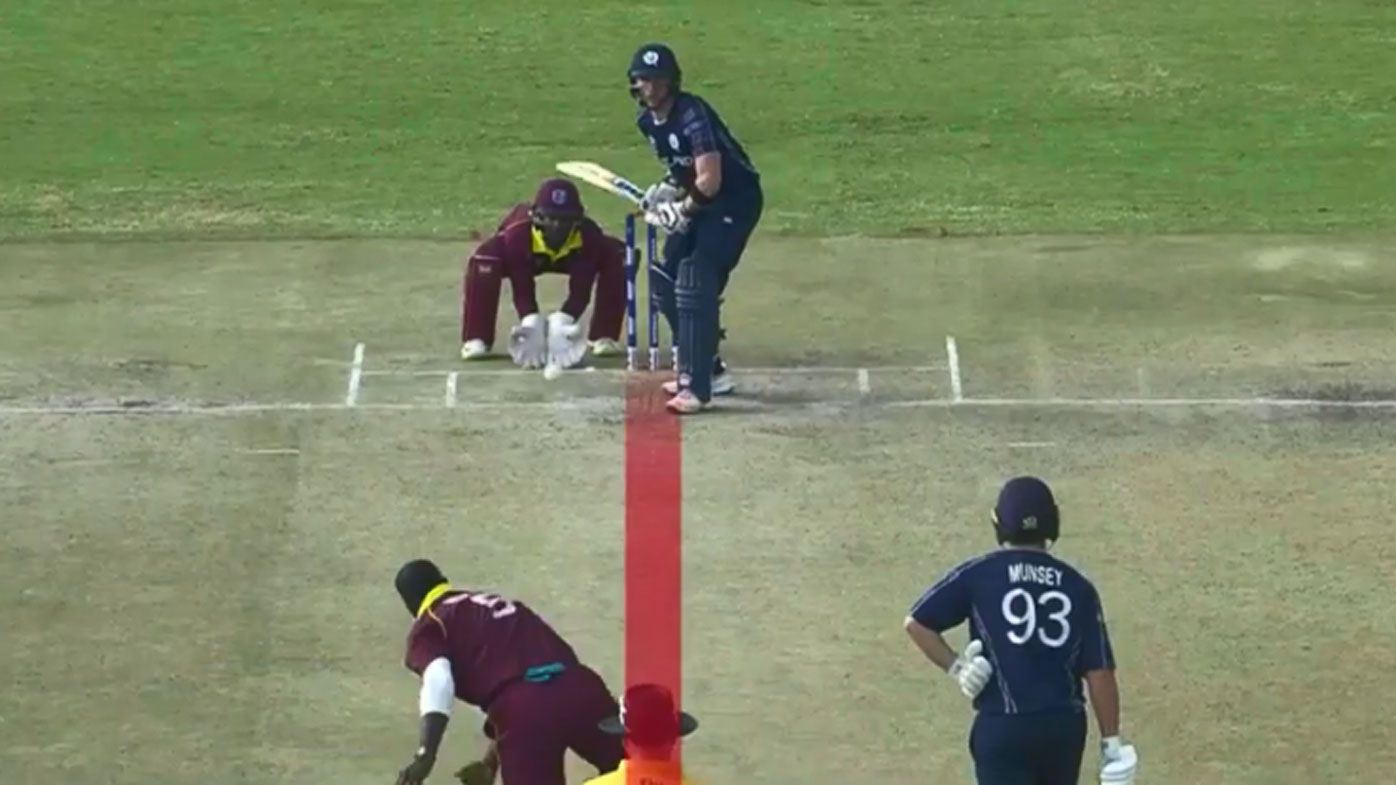 Rain helps take West Indies to lucky World Cup qualifying win over Scotland