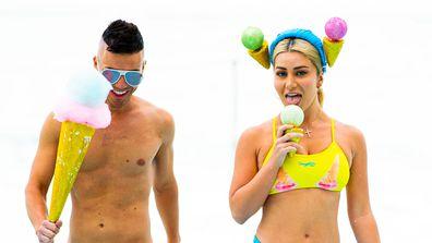 Celebrity Apprentice 2021 Swimwear Looks Budgy Smugglers Anthony Callea Martha Kalifatidis