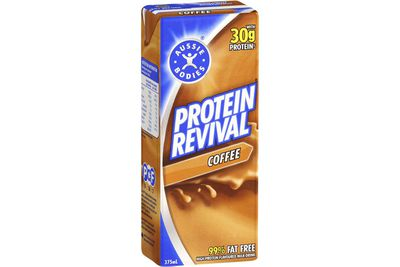Aussie Bodies Protein Revival Coffee: 30.8g sugar