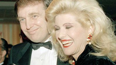 Donald and Ivana Trump in 1988. (AP)