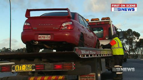 The ordeal has left Mr Chenda heartbroken, as he's now been set back years in savings. Picture: 9NEWS