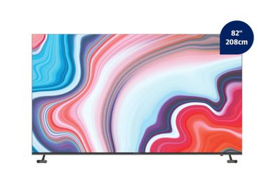 """The BAUHN 82"""" 4K Ultra HD Smart TV is on sale on Aldi's website from this Saturday for $1,299"""