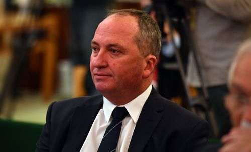 "Barnaby Joyce says the bickering between Malcolm Turnbull and Tony Abbott is ""not a good look""."