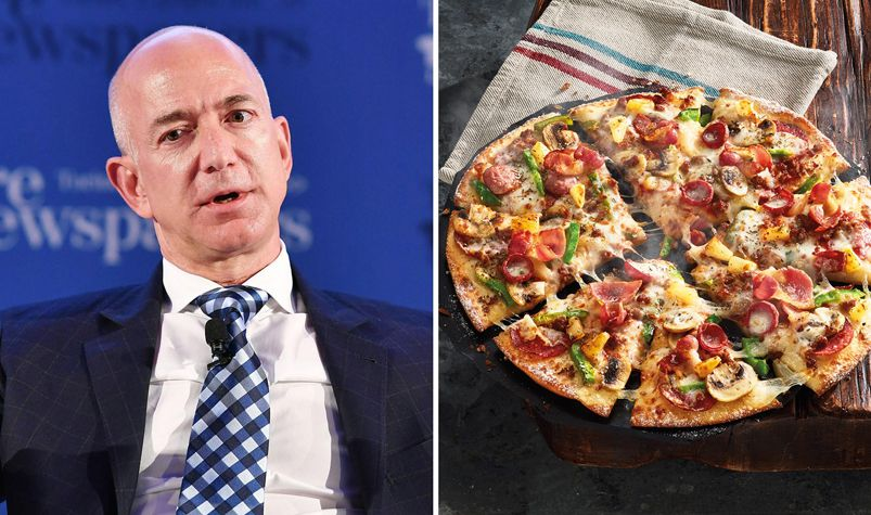 Jeff Bezos Two Pizza Rule For Office Productivity