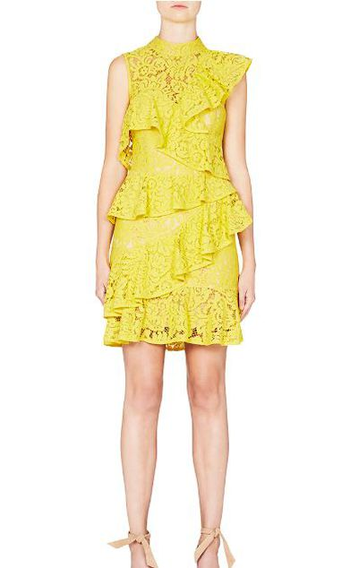 "<p>Spirit fingers<a href=""http://www.rebeccavallance.com/rtw/dresses/wilson-ra-ra-mini-dress"" target=""_blank"">&nbsp;</a></p> <p><a href=""http://www.rebeccavallance.com/rtw/dresses/wilson-ra-ra-mini-dress"" target=""_blank"">Rebecca Vallance</a> Wilson Ra Ra Dress, $669<br /> </p>"