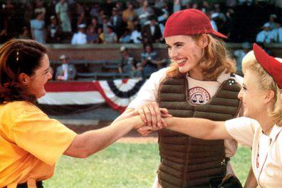 Geena Davis in 'A League of Their Own'