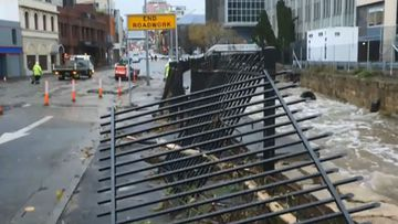Tasmania struggles to rebuild after storm