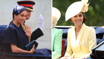 Meghan Markle and Kate Middleton stun at Trooping the Colour