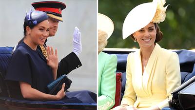 Trooping the Colour 2019: Meghan Markle, Kate Middleton stun