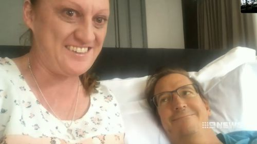 Duncan Edgar could be home from Bali in the next 24 hours. Picture: 9NEWS