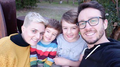 Jane and her boys getting through lockdown homeschooling