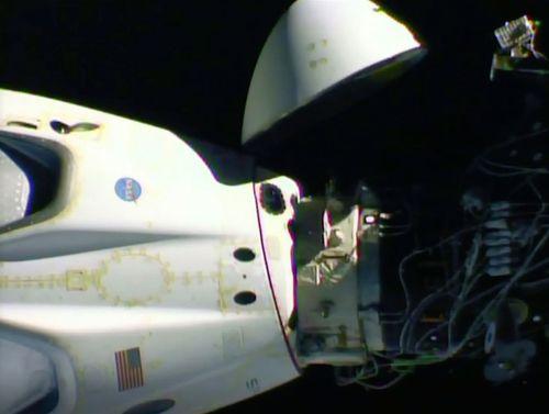 Astronauts prepare to touchdown in Florida despite Tropical Storm Isaias