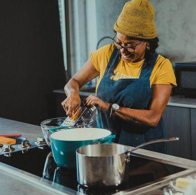 Nyesha Arrington cooking