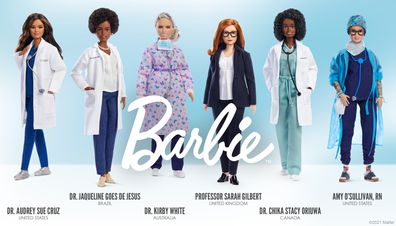 Barbies of international heroes of the COVID-19 pandemic