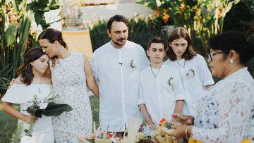 Melissa and Dean's wedding