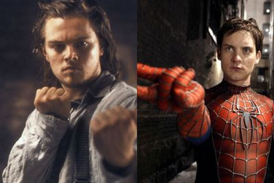 "During an interview with UK mag <i>Short List</i> Leo was probed about his rumoured roles of Robin in <i>Batman Forever</i>, Anakin Skywalker in the <i>Star Wars</i> prequels and Spider-Man in the role eventually given to Tobey Maguire.<br/><br/>His reasoning: ""I didn't feel ready to put on that suit yet.""<br/><br/>Left: Leo in <i>Gangs of New York</i> (2002) / Miramax. Right: Tobey Maguire in <i>Spider-Man</i> (2002) / Sony."