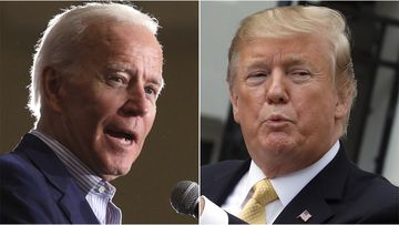 President Donald Trump, still seething over a major firefighters union's endorsement of former Vice President Joe Biden, retweeted nearly five dozen tweets yesterday.