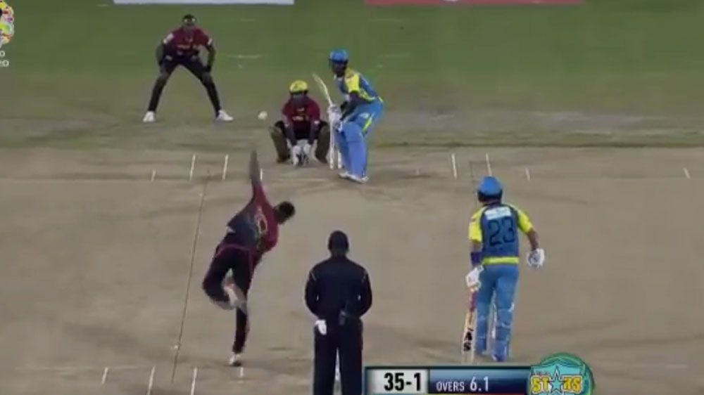 St Lucia's Andre Fletcher's remarkable slice of luck against Trinbago Knight Riders in Caribbean Premier League