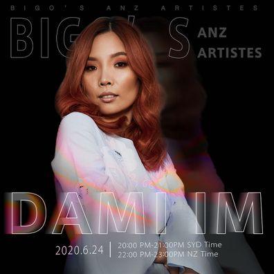 Dami Im, BIGO, livestream, concert, promo photo
