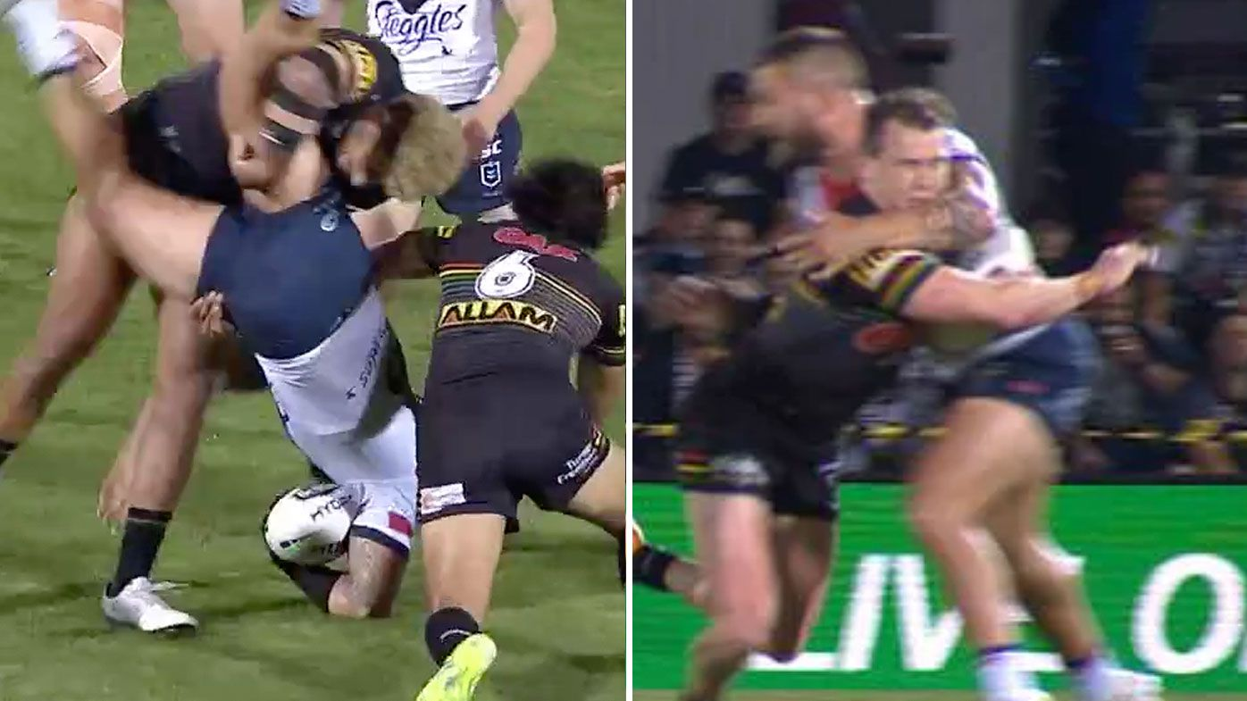 Viliame Kikau faces ban for dangerous throw tackle on Jared Waerea-Hargreaves