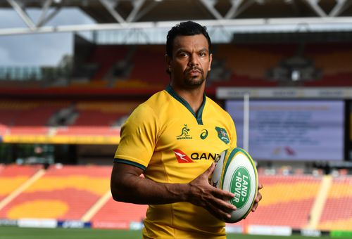In the leaked video Wallabies veteran Kurtley Beale can be seen with Corey Norman and two other men.