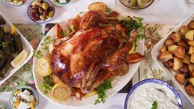 Family Roast Chook Lime and Lemongrass Chicken recipe